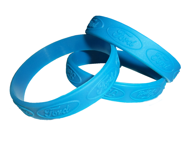 Custom Embossed Wristband